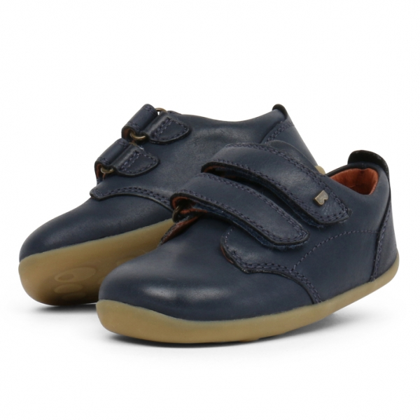 Bobux: Step up Port Shoe Navy