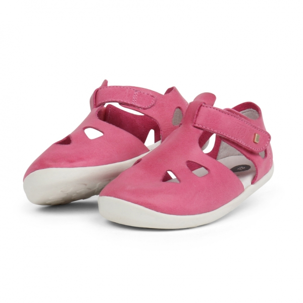Bobux: Step up Zap Sandal Pink