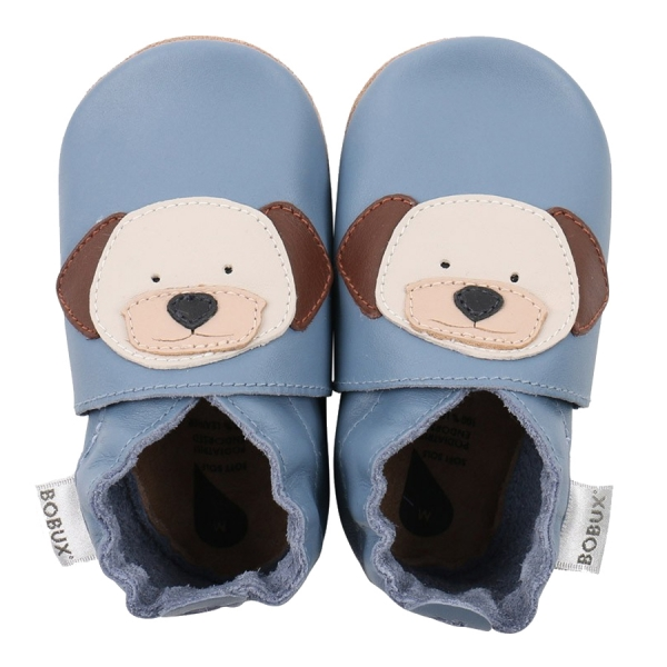 Bobux: Soft sole Puppy Bright Blue