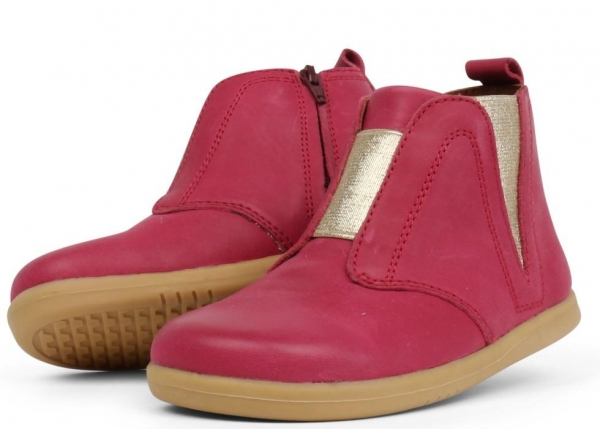Bobux: iWalk Signet Boot Dark Pink