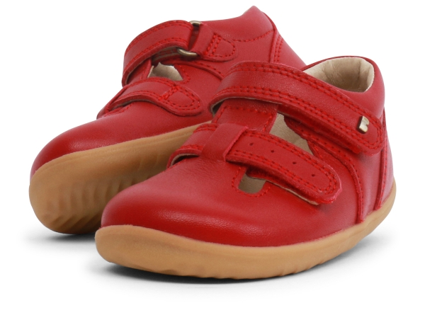 Bobux: Step up Jack and Jill Shoe Rio Red
