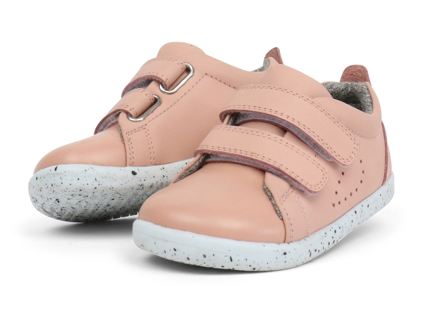 Bobux: iWalk Grass Court Trainer Blush